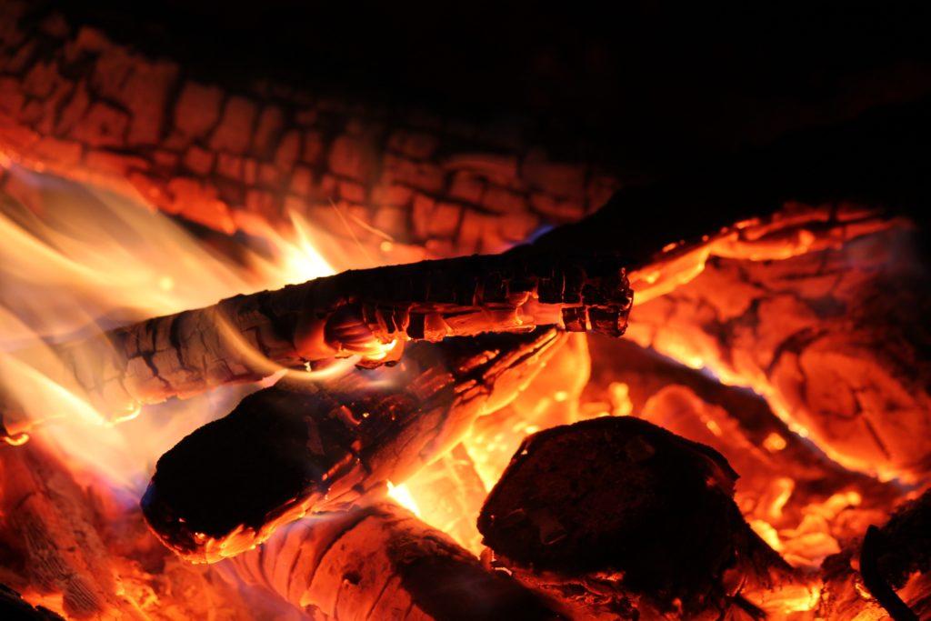 焚火の癒し効果